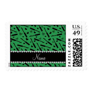 Arcos verdes conocidos personalizados de los sello