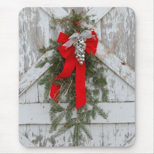 Arcos y Belces del navidad Alfombrilla De Ratón
