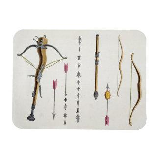 Arcos y flechas a partir del 14to-décimo quinto si imanes flexibles