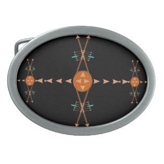 Arcos y hebilla del cinturón de las flechas hebillas de cinturon ovales
