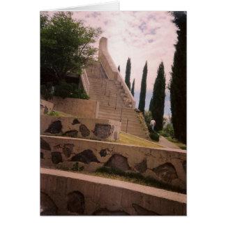 Arcosanti Stairway Card