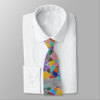 Arcs Catching Color Tie