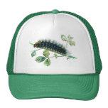 Arctia caja caterpillar mesh hats