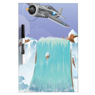 Arctic Adventure Dry-Erase Board