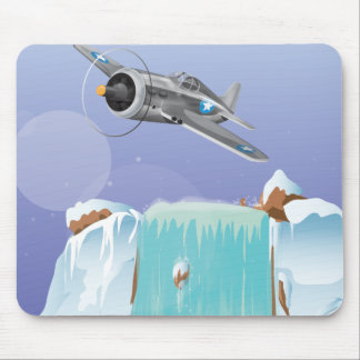 Arctic Adventure Mouse Pad