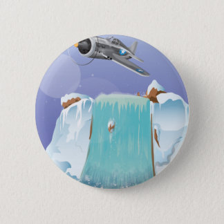 Arctic Adventure Pinback Button