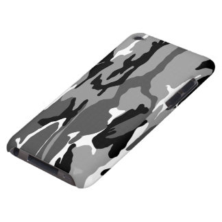 Arctic Camo Barely There iPod Covers