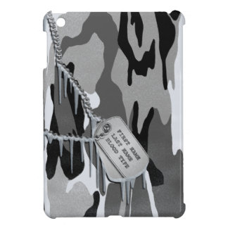 Arctic Camo w/ Dog Tags Cover For The iPad Mini
