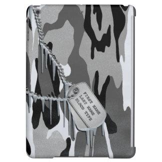 Arctic Camo w/ Dog Tags iPad Air Case