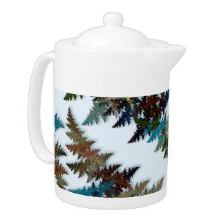 Arctic Camouflage Teapot