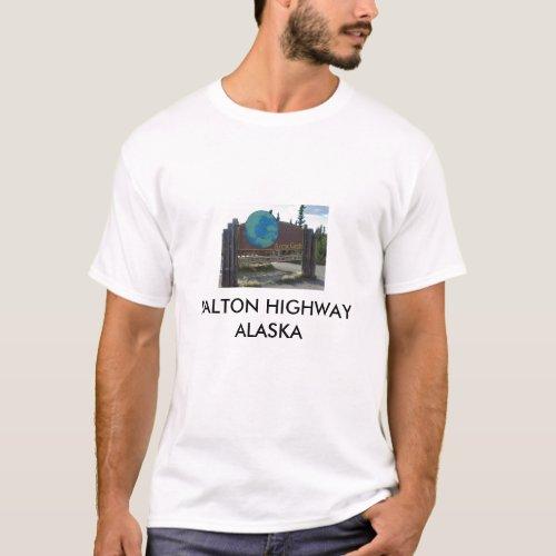 arctic circle DALTON HIGHWAY ALASKA T_Shirt