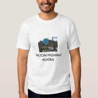 arctic circle, DALTON HIGHWAY ALASKA T-shirts