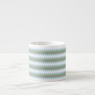 Arctic Colors Chevron Zigzag Espresso Cup