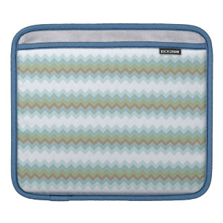 Arctic Colors Chevron Zigzag iPad Sleeve H