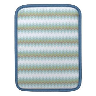 Arctic Colors Chevron Zigzag iPad Sleeve V