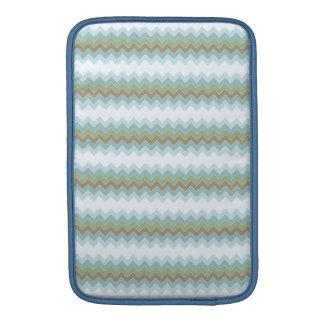 """Arctic Colors Chevron Zigzag Macbook Air 11"""" V MacBook Sleeve"""