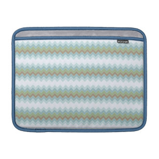 "Arctic Colors Chevron Zigzag Macbook Air 13"" H MacBook Sleeves"