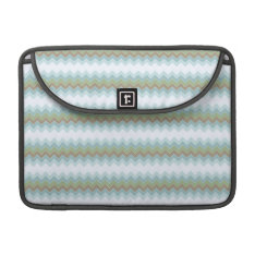 Arctic Colors Chevron Zigzag Macbook Pro 13