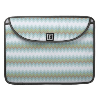 "Arctic Colors Chevron Zigzag Macbook Pro 15"" Sleeve For MacBooks"