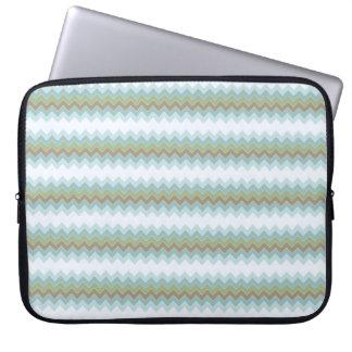 "Arctic Colors Chevron Zigzag Neoprene Sleeve 15"" Laptop Computer Sleeves"