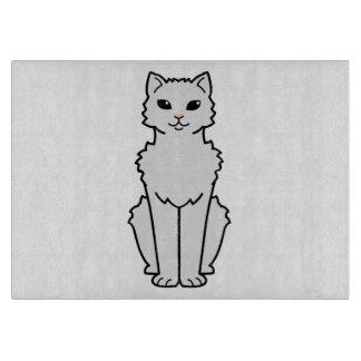 Arctic Curl Cat Cartoon Cutting Boards