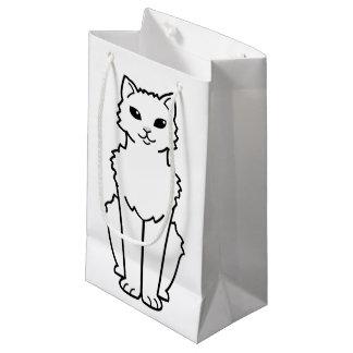 Arctic Curl Cat Cartoon Small Gift Bag