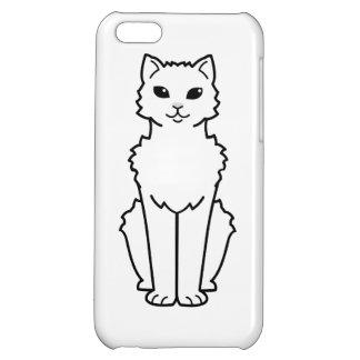 Arctic Curl Cat Cartoon iPhone 5C Case