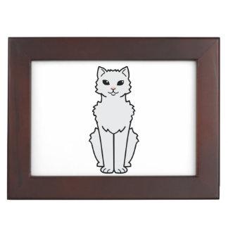 Arctic Curl Cat Cartoon Keepsake Boxes
