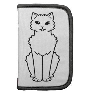 Arctic Curl Cat Cartoon Organizers