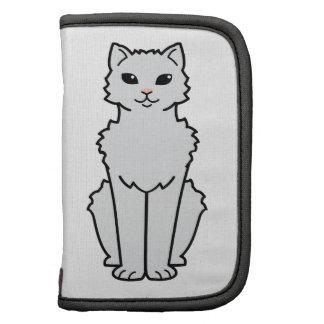 Arctic Curl Cat Cartoon Planners