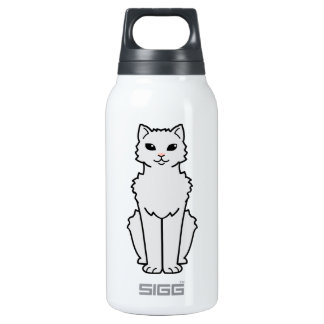 Arctic Curl Cat Cartoon 10 Oz Insulated SIGG Thermos Water Bottle