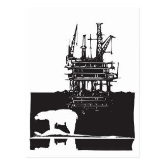 Arctic Drilling Postcard