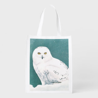 Arctic Eyes Grocery Bag