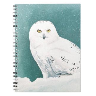 Arctic Eyes Spiral Notebook