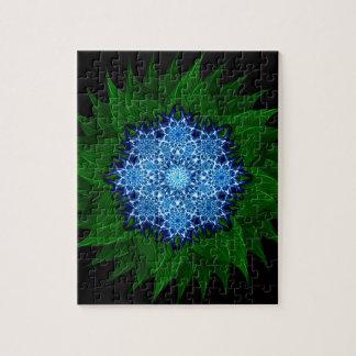 Arctic Flower Mandala Jigsaw Puzzle