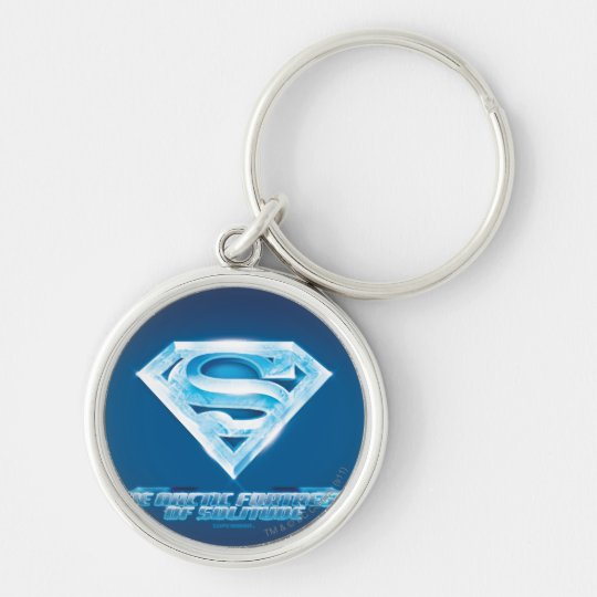 Arctic Fortress of Solitude Keychain