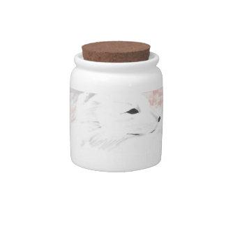 Arctic Fox Candy Jars