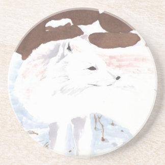 Arctic Fox Drink Coasters