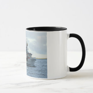 Arctic Fox, Crab Boat in Dutch Harbor, Alaska Mug