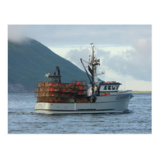 Arctic Fox, Crab Boat in Dutch Harbor, Alaska Postcard