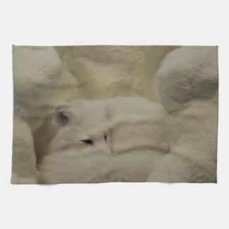 Arctic Fox Den Towel