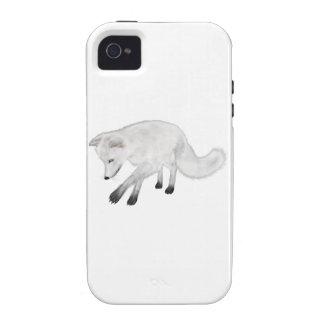 Arctic Fox Hunting iPhone 4 Cases