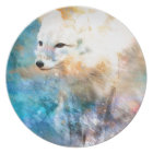 ARCTIC FOX.jpg Dinner Plate