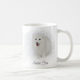 Arctic Fox Painting Coffee Mug