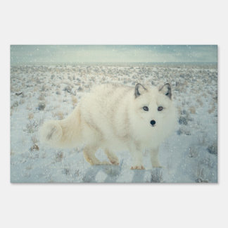 Arctic Fox Sign