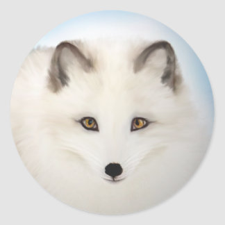 Arctic Fox Stickers