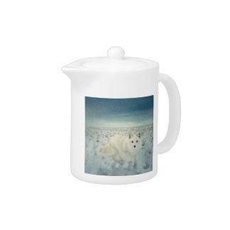 Arctic Fox Teapot