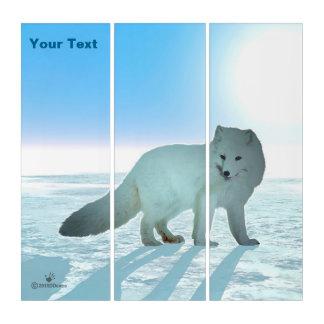 Arctic Fox Triptych