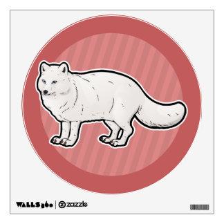 Arctic Fox Wall Decal