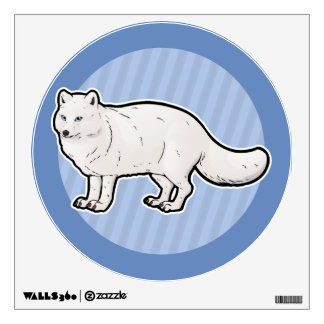 Arctic Fox Wall Sticker